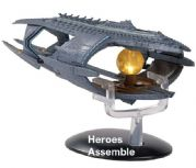 Star Trek Discovery Starships Collection ISS Charon Starship XL Special Eaglemoss